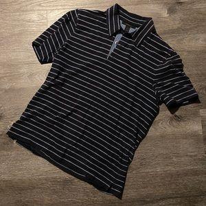 Express Navy/Light Blue Collared Shirt